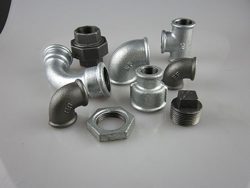 What are the malleable iron pipe fitting