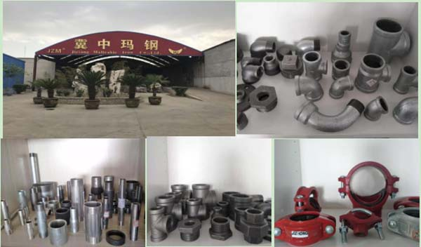 malleable iron pipe fittings in china