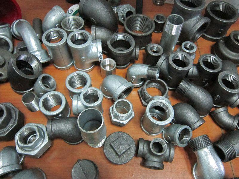 Malleable Iron Pipe Fittings Hot Dip Galvanizing Technics