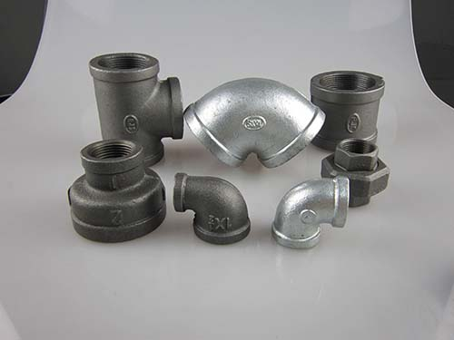 Banded Galvanized malleable iron pipe fittings
