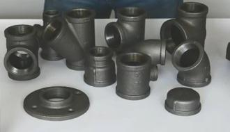 black malleable iron pipe fittings wholesale