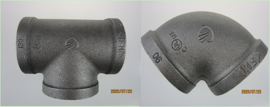 Fire Protection-Malleable iron pipe fittings
