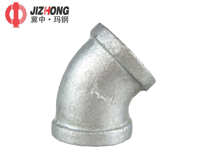 Hot Dipped Galvanized-Elbow 45°